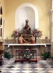 Altar de la Virgen del Carmen en la Iglesia de la Concepción