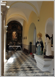 Nave de la Epístola de la Iglesia de la Concepción