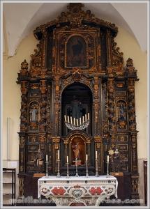 Altar de San Francisco en la Iglesia de la Concepción