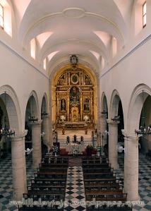 Nave central Iglesia de la Concepción