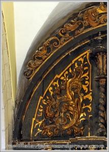 Bóveda de la Capilla del Rosario de la Iglesia de la Concepción