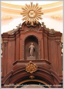 Retablo de la Capilla del Rosario de la Iglesia de la Concepción