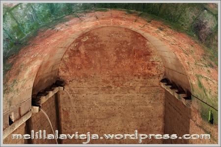 Melilla la Vieja, interior de los Aljibes
