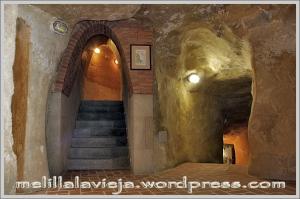 Melilla la Vieja, cuevas del conventico