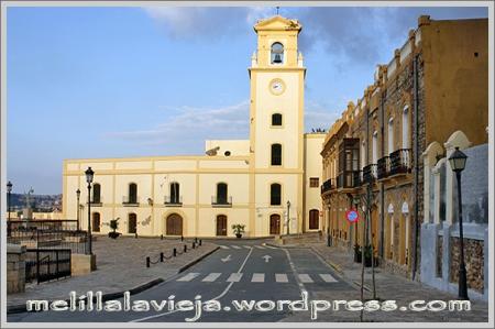 Melilla la Vieja, plaza de Estopiñán
