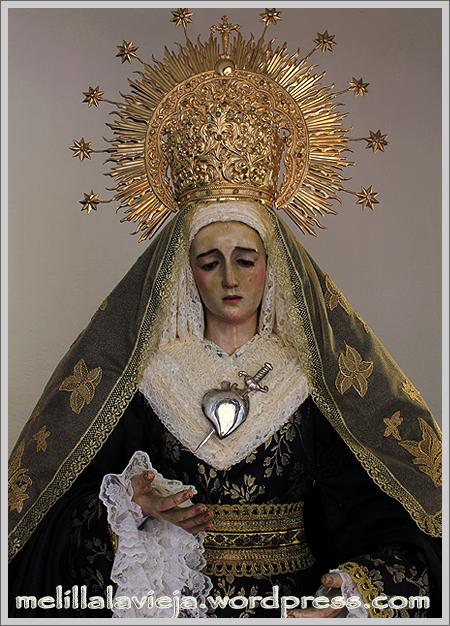 Plano medio de la Virgen de los Dolores