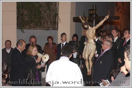 Vía Crucis del Cristo del Socorro en la calle San Miguel