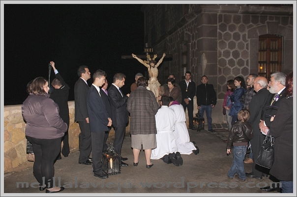 Vía Crucis del Cristo del Socorro Torreón del Bonete