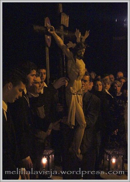 Inicio Vía Crucis del Cristo del Socorro